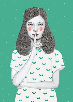 Woman illustration by Sofía Bonati