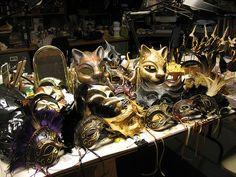 Masks | Flickr - Photo Sharing Inside the Goblin Art Studio GoblinArt.com