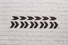 Vinyl Wall Decals Chevron Arrows by Msapple on Etsy