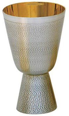 Chalice by Koley's from Henninger's Religious Goods in Cleveland Wine Goblets, Chen, Cleveland, Pottery, Ceramics, Eucharist, Ceramica, Ceramica, Pottery Marks