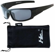 860d0d1b48 HZ Series Aquabull - Premium Polarized Sunglasses by Hornz Matte Black  Frame  affilink  polarizedsunglasses