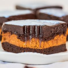 The Best Pumpkin Cream Cheese-Filled Brownie- SUB OREO CREAM CHEESE FILLING