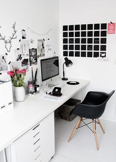 Here are our 9 best tips in order to achieve the ultimate girl boss work office with a side of practicality and style!