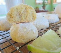 Coconut Lime Cookies recipe