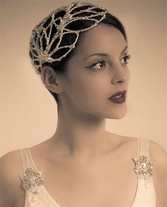 Vivien Sheriff - Ginseng Headpiece.