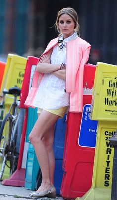 Introducing Outfit of the Day: Starring Olivia Palermo and Her Cute Shorts Outfit