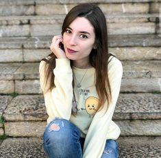 Lyna Youtube, Top Youtubers, Shared Folder, T Shirts For Women, Instagram, Ideas Para, Tops, Memes, Fashion