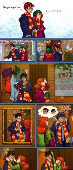 Harry Potter by BeyondThePines on DeviantArt Harry Potter Comics, Images Harry Potter, Harry Potter Ships, Harry Potter Jokes, Harry Potter Fan Art, Harry Potter Universal, Harry Potter Fandom, Harry E Gina, Harry And Ginny