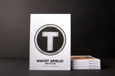 Spielplan Macht Spiele 2017/2018  Landestheater Vorarlberg Planer, Convenience Store, Convinience Store