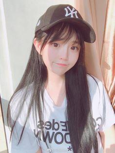 Pretty Korean Girls, Korean Beauty Girls, Cute Korean Girl, Cute Asian Girls, Beautiful Asian Girls, Cute Girls, Cute Kawaii Girl, Cute Girl Face, Kawai Japan