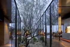 Desert Courtyard House / Wendell Burnette Architects Desert Courtyard House,© Bill Timmerman