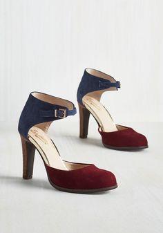 Shoes - Hopeful Heel in Colorblock