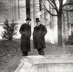 Reiner Maria Rilke and Auguste Rodin