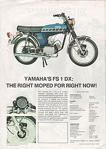 Brochures & Literature - Yamaha Fs1e
