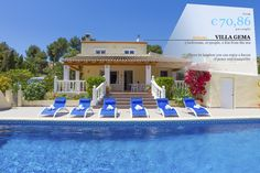 VILLA OF THE WEEK !!! VILLA GEMA Magnificent villa for rent in Moraira. Located in the countryside and just few minutes from the sea and the village. Given its location you can enjoy a haven of peace and tranquility.