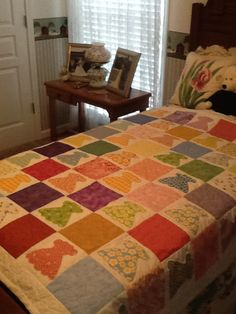 Chloe's quilt completed