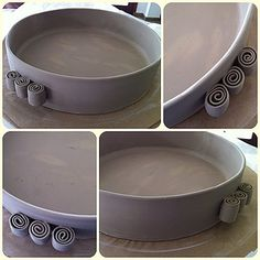 caracol - modelagem Cris Couto Love these handlesCris Couto Love these handles Hand Built Pottery, Thrown Pottery, Slab Pottery, Ceramic Pottery, Pottery Lessons, Pottery Classes, Ceramic Techniques, Pottery Techniques, Ceramic Clay
