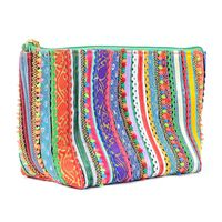Funky Embroidered Lacy Women's Pouch