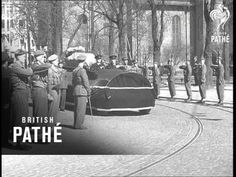 Funeral Of Crown Princess Martha Of Norway (1954) - YouTube