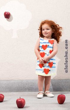 ALALOSHA: VOGUE ENFANTS: MOSCHINO Toddler collection SS2014 (Girls)