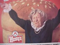 """Wendy's Commercial, """"Where's the beef?"""""""
