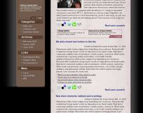 Darkness  WordPress Theme