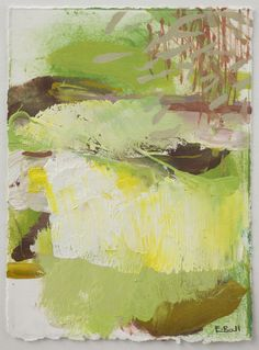 Lake and Trees by Emily Ball believe it or not, this is a landscape...see also ArtAbstractedEarth page.