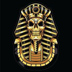 Trending Colors, digital art, top graphic Inspiration 2019 by Swyda Illustration Vector, Vector Art, Tiger Attack, Ancient Egypt Art, Samurai Artwork, Skull Wallpaper, Dope Art, Anubis, Egyptian Art