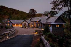 rustic exterior by Morgan-Keefe Builders, Inc.