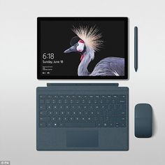 Modern Science: Microsoft unveils the £800 Surface Pro 'MacBook ki...