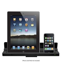 Dual-Desktop Dock Charger for iPhone® & iPad® with AC Adapter $33.00