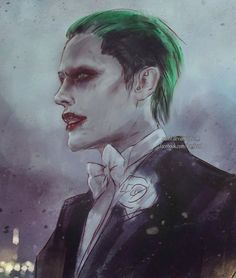 The Joker from 'Suicide Squad' - http://nanfe.deviantart.com/