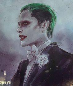The Joker from 'Suicide Squad' - http://nanfe.deviantart.com/