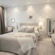 Nice Schlafzimmer Ideen Taupe that you must know, Youre in good company if you?re looking for Schlafzimmer Ideen Taupe Bedroom Bed, Dream Bedroom, Girls Bedroom, Master Bedroom, Bedroom Decor, Bedroom Ideas, Nursery Ideas, Bedroom Themes, Light Gray Bedroom