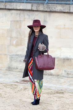 Peony Lim | Paris Fashion Week Fall 2013 | Harper's Bazaar Street Style