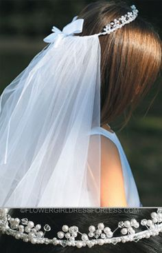Communion Veil with Crown- Style 711 $23.99