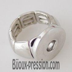 Bague Clic pour Bouton Pression Snap Chunk