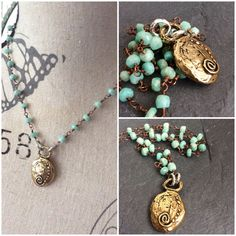 Hey, I found this really awesome Etsy listing at https://www.etsy.com/listing/260140539/amazonite-beaded-chakra-necklace-rosary