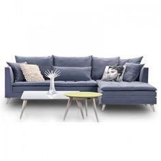 Καναπές Γωνία Audrey με ιδιαίτερη σχεδίαση Outdoor Sectional, Sectional Sofa, Couch, Sofa Company, Outdoor Furniture, Outdoor Decor, Living Room, Home Decor, Interiors