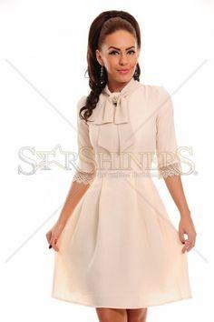 LaDonna Delicious Glow Cream Dress