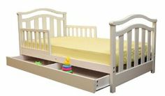 Toddler bed with drawer