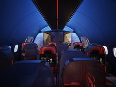 Nike Helps Design a Swank Jet for Traveling Sports Teams   Seattle-based design firm Teague and Nike have joined forces to develop a plane specially designed for professional athletes.  Teague    WIRED.com