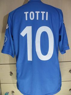 Totti italy world cup 2002 home vintage kappa football shirt soccer jersey m 518d0aa8c