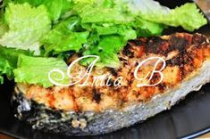 Scarsdale Diet Recipes: Grilled Salmon Steaks with Mustard