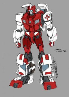 First Aid - Transformers: MTMTE Concept Art