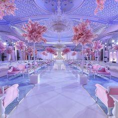 How stunning is this #wedding setup by @nasheedevents?! LOVE #weddingdecor #weddingceremony #WEDDING #weddings #weddinginspiration #sophisticatedbride #beautiful #decor #gettingmarried...