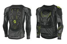 Scott SOFTCON Jackets (BLK) *LEATT Compatible* SAS-TEC