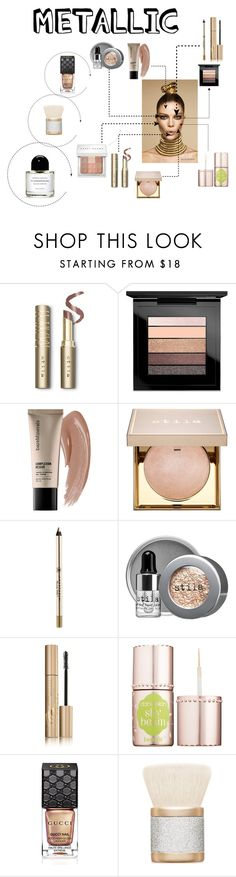 """😍. Check out my sets"" by ava-h1422 ❤ liked on Polyvore featuring beauty, Stila, MAC Cosmetics, Butter London, Bare Escentuals, Anastasia Beverly Hills, Benefit and Gucci"