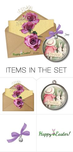 """Easter"" by smile2528 ❤ liked on Polyvore featuring art"