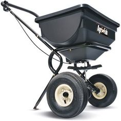 AgriFab Device Maneuverability Push Broadcast Spreader Black ** Want to know more, click on the image.